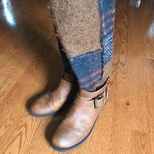 Shoes - Above Calf Brown Felt Boot